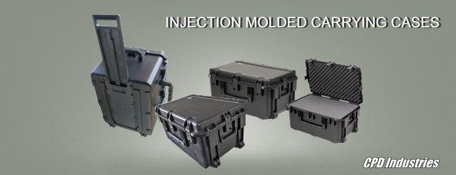 skb injection molded case