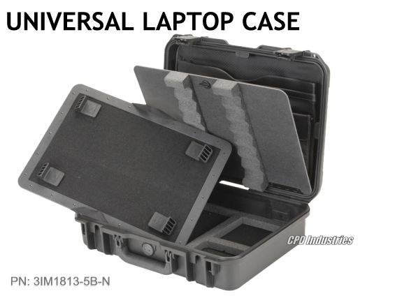 skb laptop case with organizer in lid