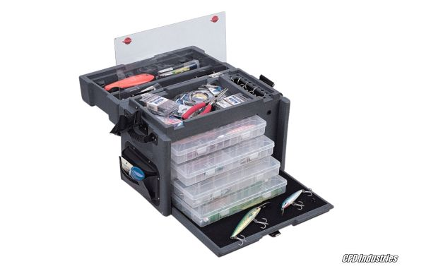 SKB Fishing Tackle Boxes - Fishing Cases keep equipment organized and easy to access.
