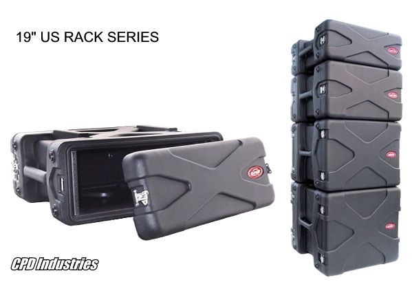 "19"" US Rack Cases by SKB"