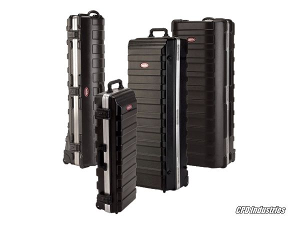 SKB Cases - rail pack shipping cases
