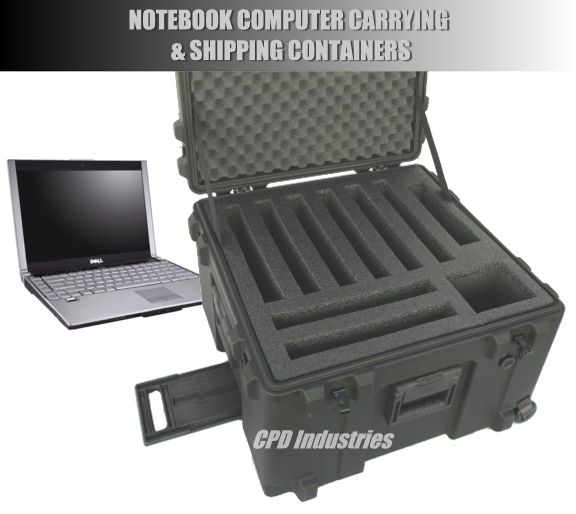 laptop case made to hold 5 laptops, 6 laptops, or 8 laptops