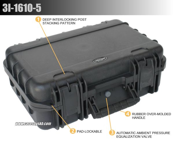 SKB Military Standard Injection Molded Cases - IM Series